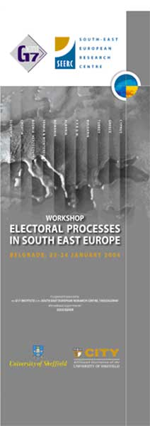 Workshop on Electoral Processes in South East Europe